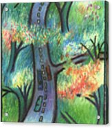 Trunk Road Acrylic Print