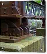 Trussed Trestle Acrylic Print