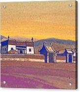Tsagan-kure, Inner Mongolia Acrylic Print