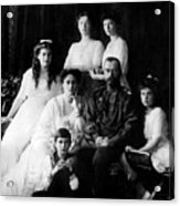 Tsar Nicholas II And His Family - 1913 Acrylic Print