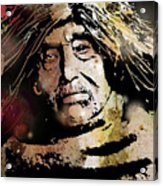 Tsawatenok Man Acrylic Print
