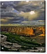 Tsegi Overlook Sunrise Acrylic Print