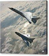 Tsr.2 Advanced Bomber And Lightning Interceptor Acrylic Print