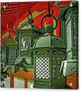Tsuri-do-ro Or Hanging Lantern #0807-2 Acrylic Print