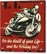 Tt Races 1961 Acrylic Print