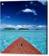 Tuamotu Islands, Raiatea Acrylic Print