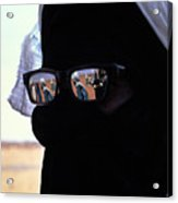 Tuareg With Sunglasses Acrylic Print