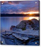 Tubbs Hill Sunset Acrylic Print