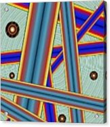 Tubes Two Acrylic Print