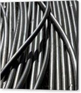 Tubular Abstract Art Number 13 Acrylic Print
