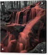 Tucker Brook Falls Ir 1 Acrylic Print