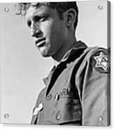Tucson Arizona Army Reservist Taking Part In Summer Camp Exercise Death Valley  Ca 1968 Acrylic Print
