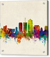 Tucson Arizona Skyline Acrylic Print