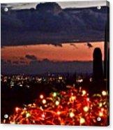 Tucson City Lights Acrylic Print