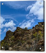 Tucson Mountains Acrylic Print