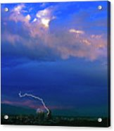 Tucson Power Outage-signed-#004 Acrylic Print