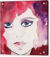 Tueday's Girl Acrylic Print