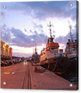Tug Boats Acrylic Print