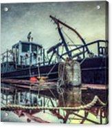 Tug In The Fog Acrylic Print