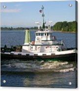 Tugboat America Acrylic Print