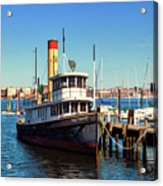 Tugboat Baltimore At The Museum Of Industry Acrylic Print