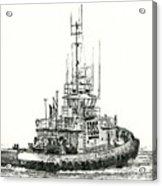 Tugboat Daniel Foss Acrylic Print