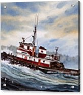 Tugboat Earnest Acrylic Print