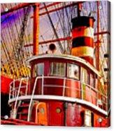 Tugboat Helen Mcallister Acrylic Print