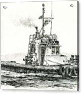 Tugboat Kelly Foss Acrylic Print