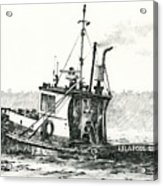 Tugboat Lela Foss Acrylic Print