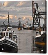 Tugs And Lady Washington Acrylic Print by Craig Perry-Ollila