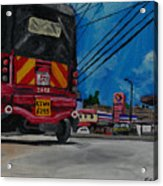 Tuk Tuk Acrylic Print