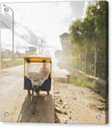 Tuk Tuk Taxi Acrylic Print