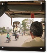 Tuk Tuk View Acrylic Print