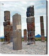Tula: Toltec Monuments Acrylic Print