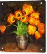 Tulip Bouquet Acrylic Print