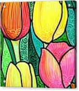 Tulip Expo Acrylic Print