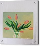 Tulips Dancing Acrylic Print