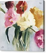 Tulips In My Studio Acrylic Print