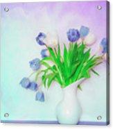 Tulips In Winter Acrylic Print