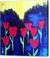 Tulips Of My Heart Acrylic Print