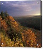 Tully River Valley Autumn Acrylic Print
