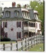 Tulpehocken Manor Plantation Historic Site  Acrylic Print