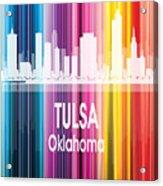 Tulsa Ok 2 Vertical Acrylic Print