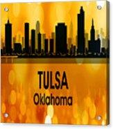 Tulsa Ok 3 Vertical Acrylic Print