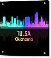 Tulsa Ok 5 Squared Acrylic Print