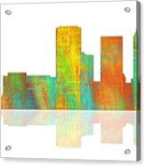 Tulsa Oklahoma Skyline-1 Acrylic Print