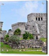 Tulum Mayan Ruins Acrylic Print