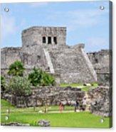 Tulum Ruins   Acrylic Print