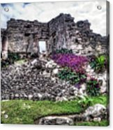 Tulum Temple Ruins No.2 Acrylic Print